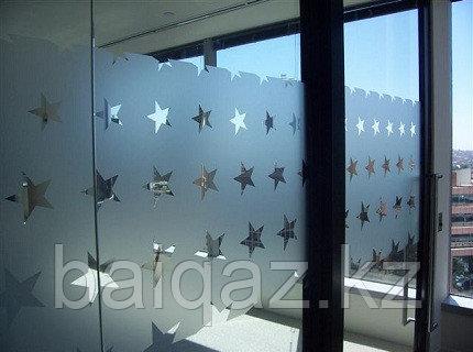 Матирование витрин
