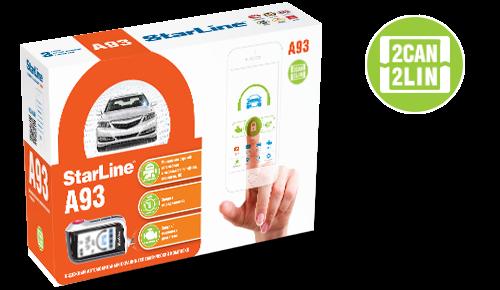 StarLine A93 GSM, 2 пульта, модуль GSM в комплекте