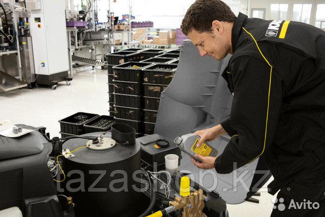 Замена масла в АВД (аппаратах высокого давления)
