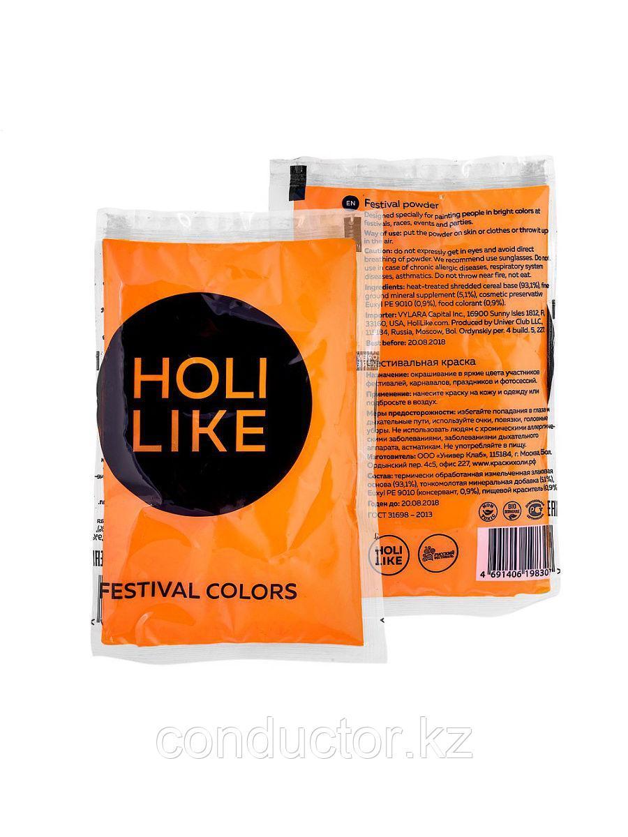 Краска Холи оранжевый