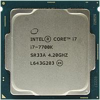 Процессор CPU S-1151 Intel Core i7 7700K TRAY <4,2 GHz, Quad Core, Кеш L3- 8 Мб, HD Graphics 530, Kaby Lake>