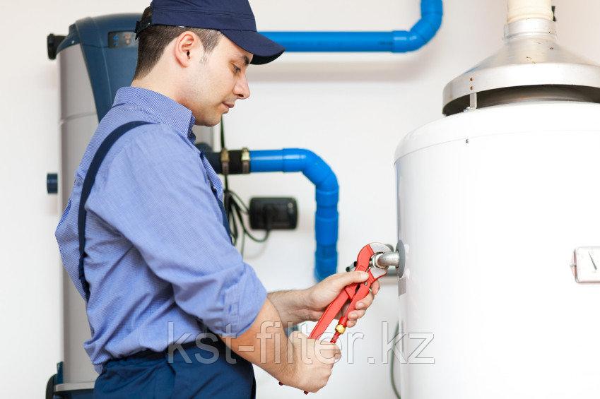 Ремонт, установка, запуск, замена фильтрующих элементов водоочистного оборудования