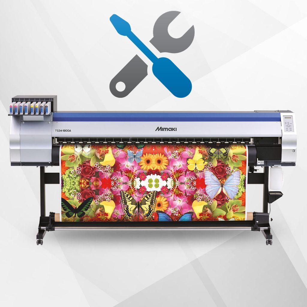 Ремонт и сервисное обслуживание плоттеров, футболочных принтеров, термопрессов