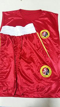 Форма боксерская красная