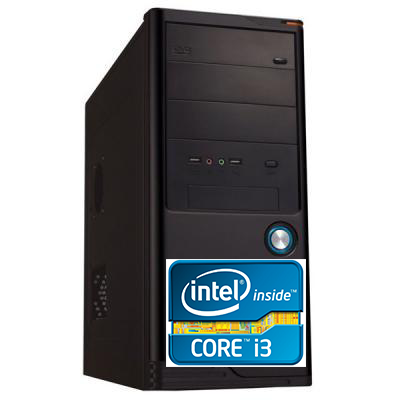 Компьютер SMATR,  380M / Intel Core i3 380m 2.4Ghz/4GB/HDD500/450W