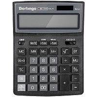 """Калькулятор настольный Berlingo""""City Style"""" 14 разрядный CIB214 чёрный/серый"""