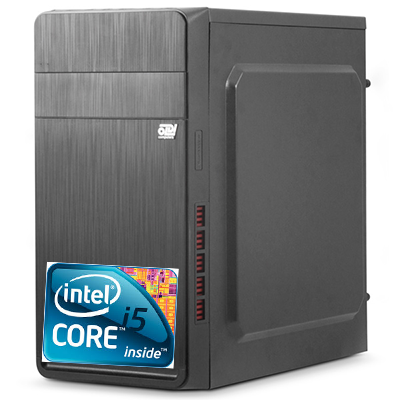Компьютер Intel Core i5-540m 2.53GHz/ 4GB/HDD 500/DVD/450W