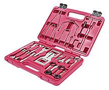 JTC Набор инструментов для демонтажа авторадиоаппаратуры 46 предметов универсальный в кейсе JTC