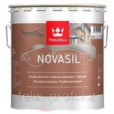 NOVASIL MRA фасадная краска 9 л