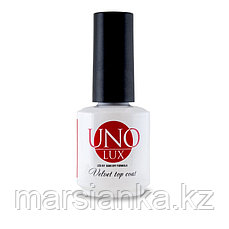 Top coat UNO, Lux high gloss, 15ml (топ)
