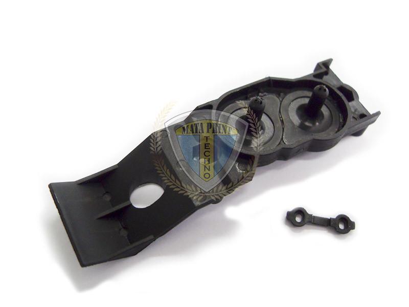 Адаптер пластиковый сольвентный для DX4 печатающей головки (КИТАЙ)
