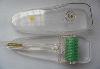 Дермароллер - Мезороллер Широкий титановые  позолоченные микроиглы 1 мм, фото 1