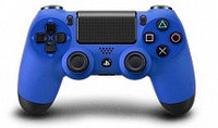 Джойстик Bluetooth Black/Blue (Оригинал) (ps4)