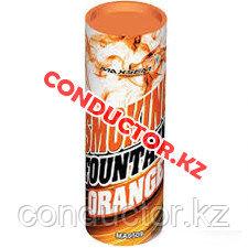 Цветной дым Smoking Fountain 30-40 сек оранжевый