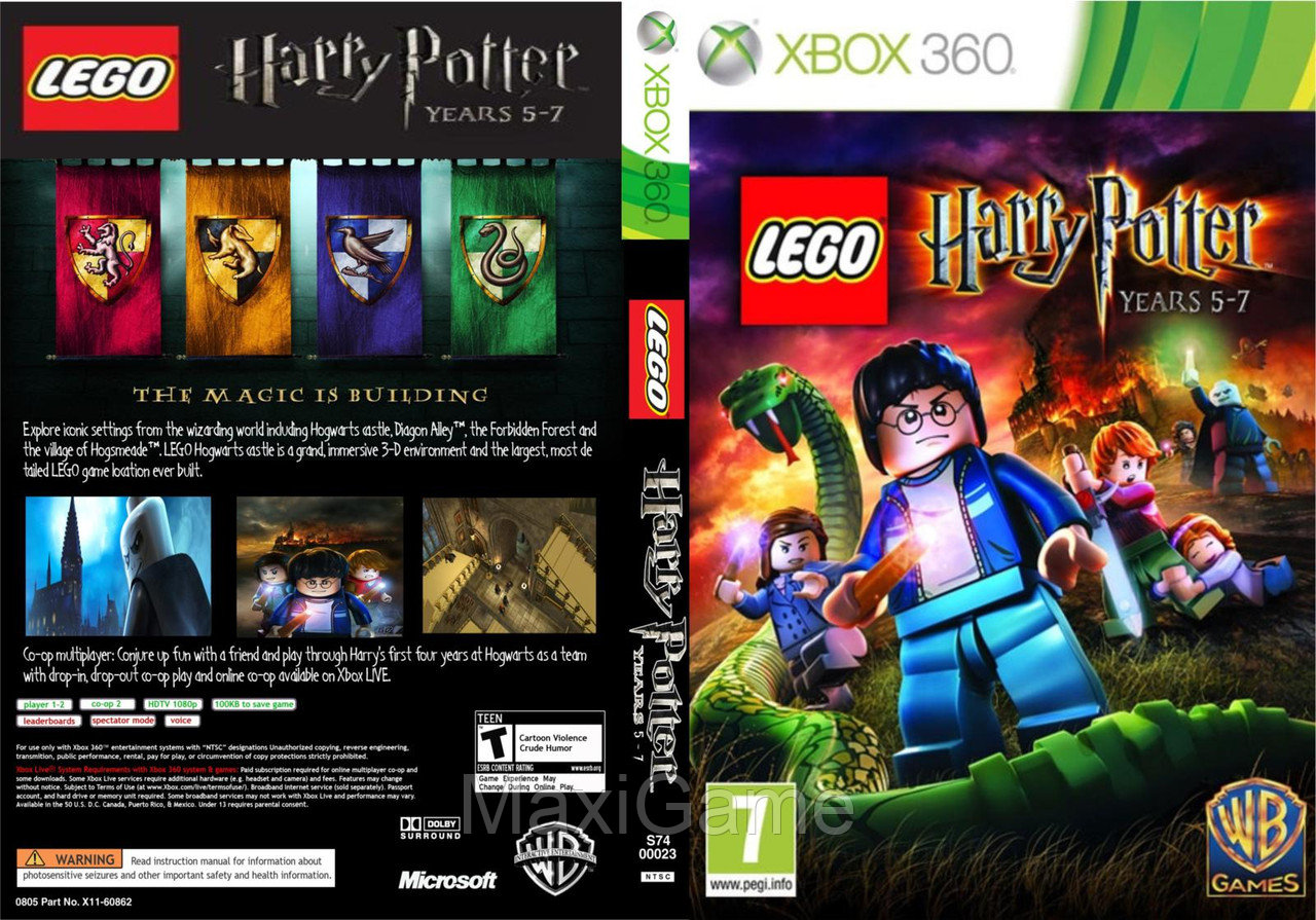 LEGO - Harry Potter Years 5-7 (Action) - MaxiGame в Алматы