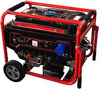 Бензиновый генератор 6,2кВт 220В на колесах с электростартером Magnetta, GFE 8000