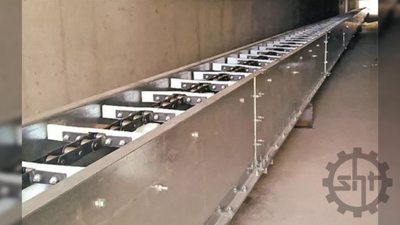 Конструкция транспортер скребковый снять бампер на транспортер т5