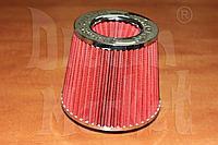 Фильтр нулевого сопротивления Simoto 0425-R, диаметр гофры 75 мм, высота 155 мм, красный, фото 1