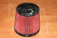 Фильтр нулевого сопротивления K&N 14084-2, диаметр гофры 75 мм, высота 165 мм, красный, фото 1