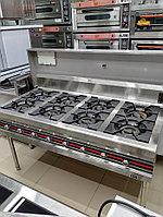 Газовые плиты. 8-конфорочная, фото 1