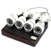 Комплект видеонаблюдения AHD 4 уличные камеры, фото 1