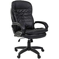 Кресло руководителя Chairman 795 LT, экокожа черная, механизм качания, фото 1