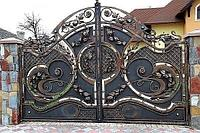 Распашные ворота, фото 1