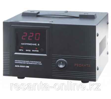 Стабилизатор напряжения Ресанта АСН 500/1 ЭМ, фото 2