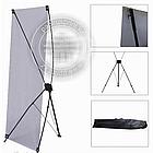 Х баннер - Паук, 2х1.2м, X-banner - мобильный выставочный стенд, фото 2