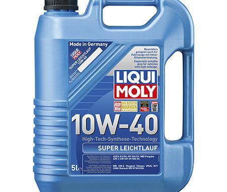 Моторное масло LIQUI MOLY Super Leichtlauf 10W-40 5L