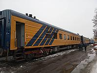 Плацкартный пассажирский вагон, тип ЦМО 1990 года, после КВР., фото 1
