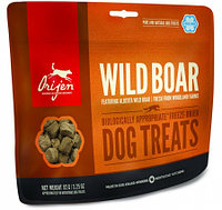 Сублимированное лакомство для собак всех пород Orijen Wild Boar Dog treats дикий кабан