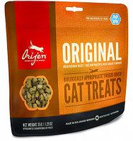 Сублимированное лакомство для кошек всех пород Orijen Original цыпленок, индейка, камбала
