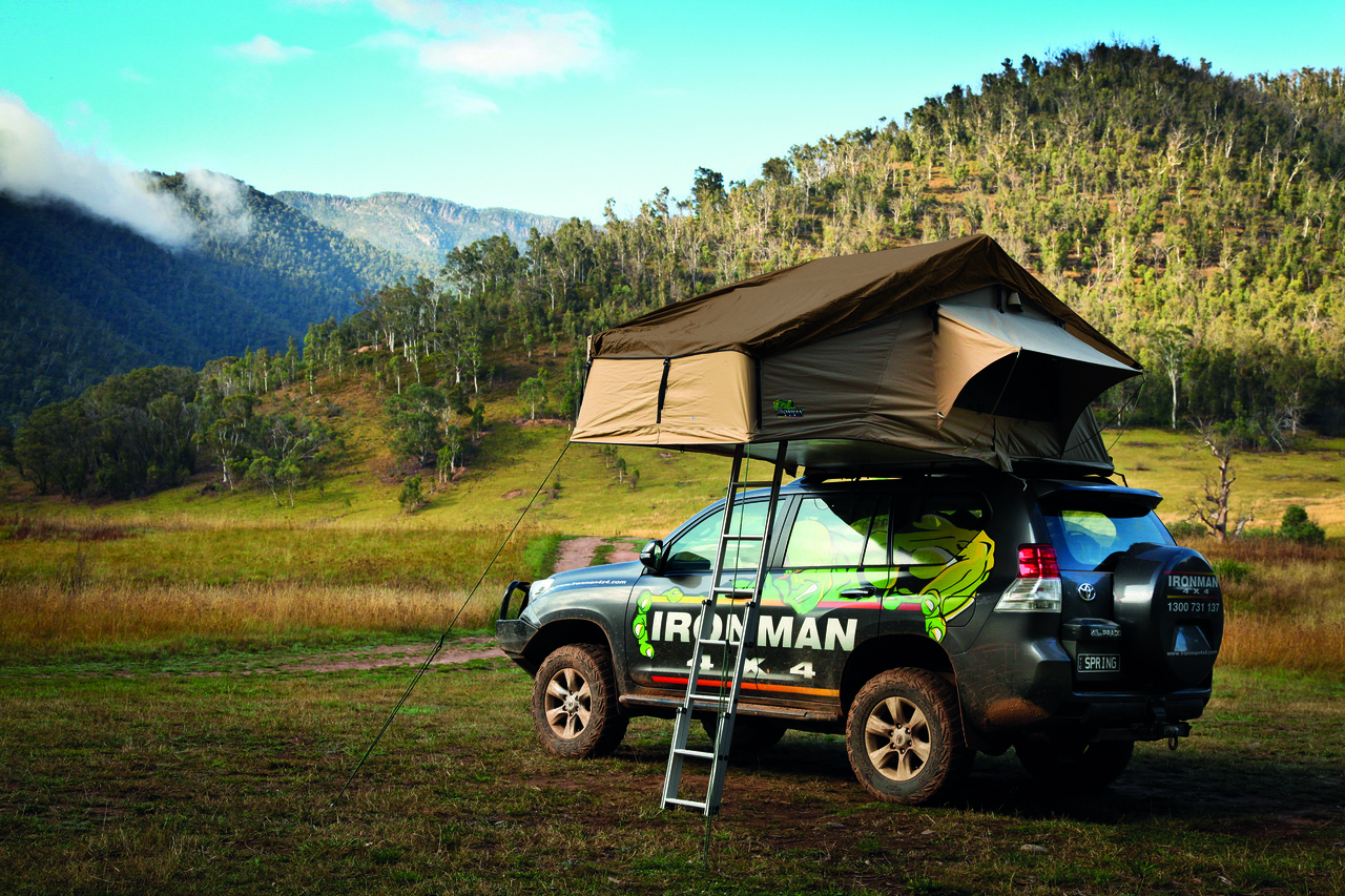 Палатка на крышу, на багажник автомобиля - IRONMAN 4X4