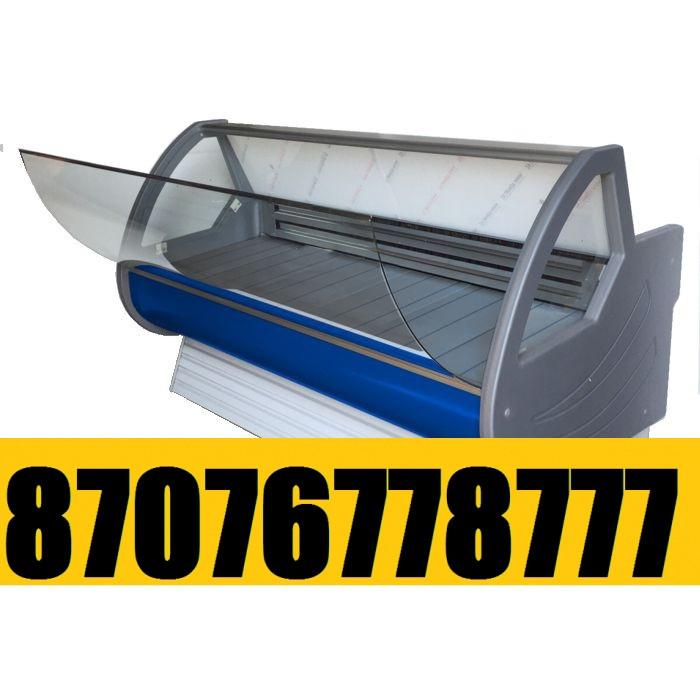 Витринный холодильник Холодильная витрина Мерей - Люкс  1,5м  -5+5С