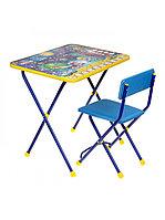 Набор мебели НИКА, КОСМОС Математика (стол+стул мягк)