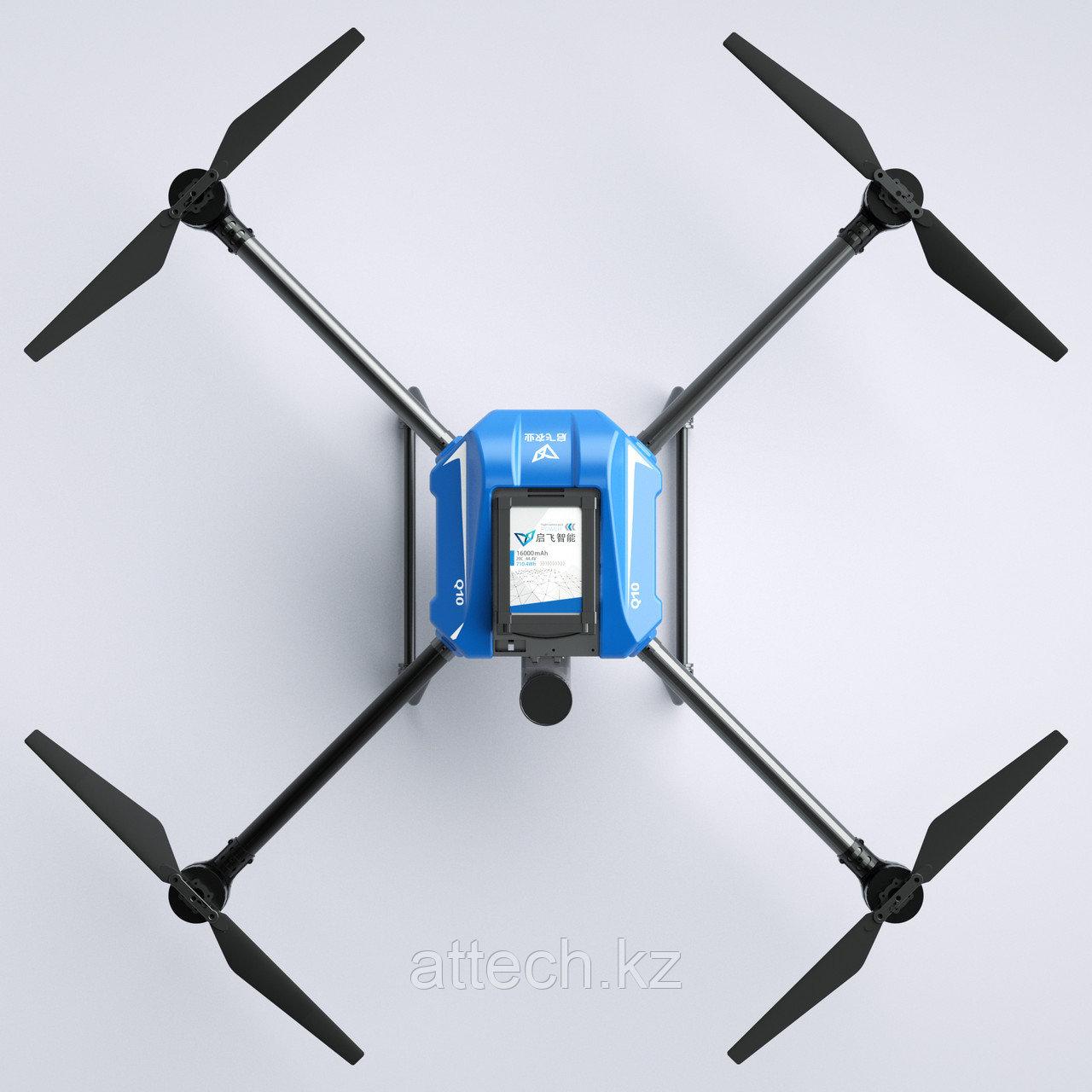 Сельскохозяйственный беспилотный летательный аппарат 10 кг модель А10 3WD4-QF-10В