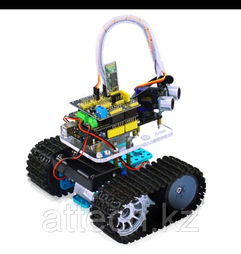 Мини-танк-робот