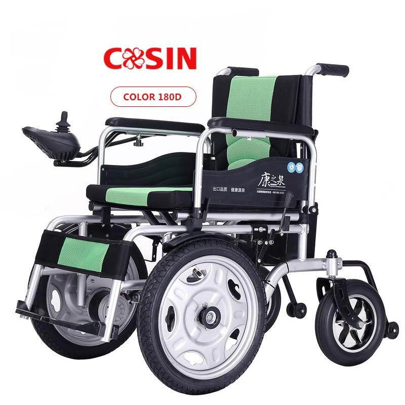 Инвалидная коляска электр.,30 Кг, COSIN COLOR 180d, 24v 500w (2*250w). Аккум. гелевый 24v 12A/H.