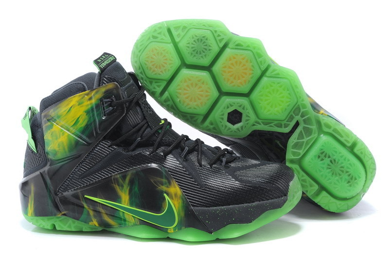 Кроссовки Nike LeBron XII (12) Paranorman Elite Series (40-46)