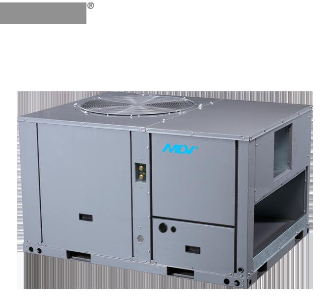 Кондиционер крышный MDV: MDRC-175HWN1 (холод/тепло)