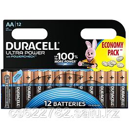 Батарейка Duracell UltraPower AA (LR06) алкалиновая, 12BL