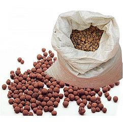 Керамзит в мешках объём 0,066 м3, вес ~ 35 кг.
