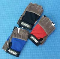 Перчатки для фитнеса и тренажеров, турника женские (без пальцев)