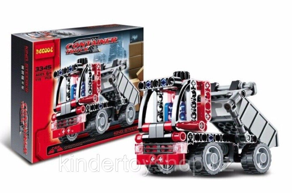Конструктор Decool 3345 «Контейнеровоз» Аналог: LEGO Technic 42084 / Лего Техник