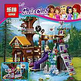 Конструктор Leduo Friends Lepin 01047 / Спортивный лагерь: дом на дереве (аналог LEGO 41122, 784 дет.), фото 4
