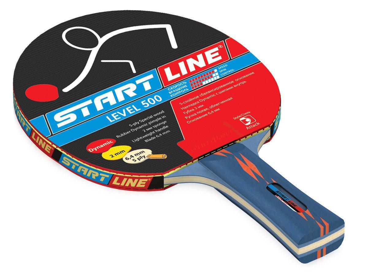 Ракетка теннисная Start Line Level 500 - для динамичной игры