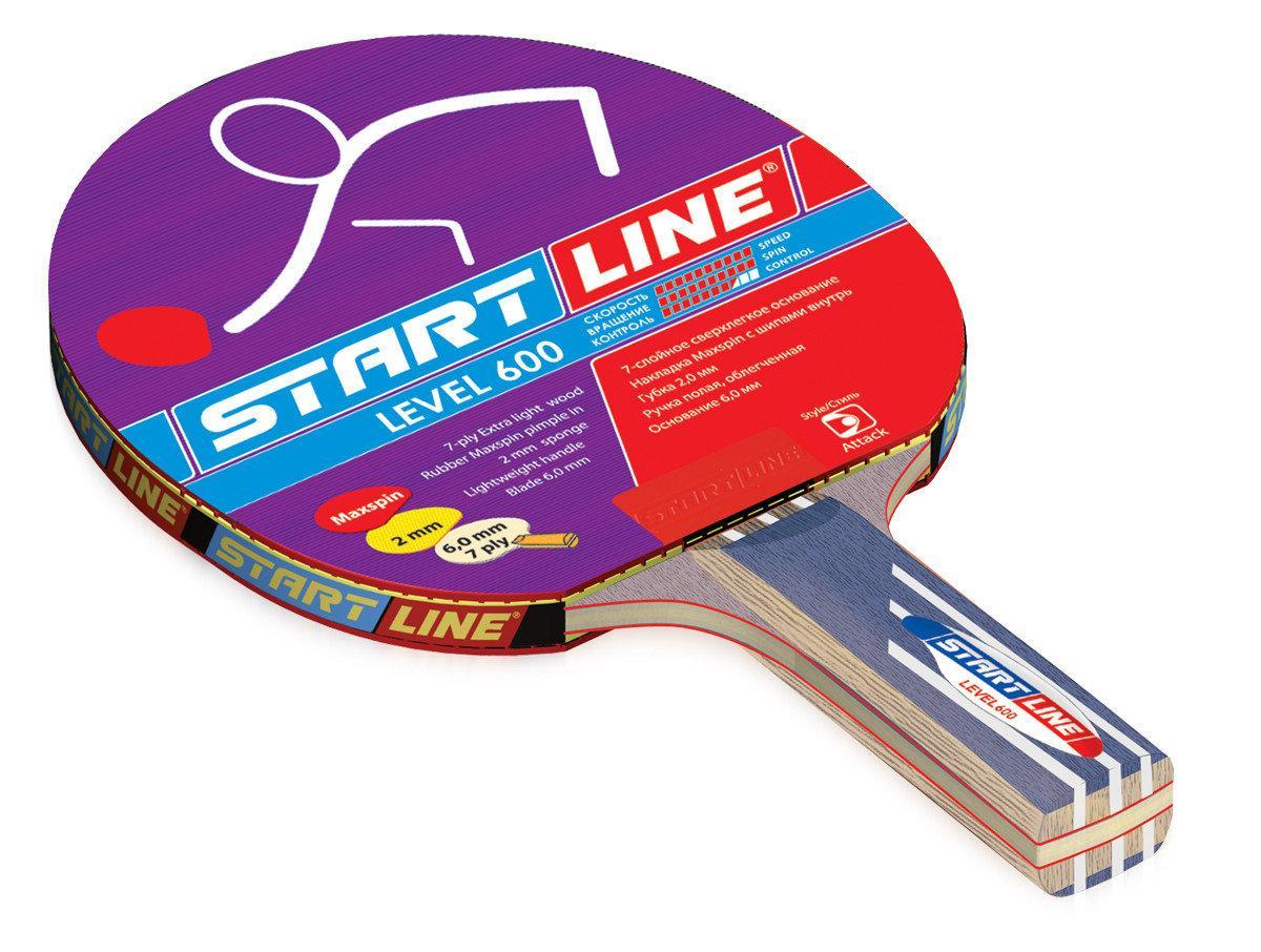 Ракетка теннисная Start Line Level 600 - суперскоростная
