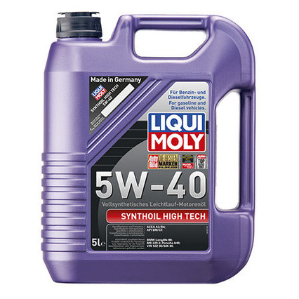 Моторное масло Liqui Moly Synthoil High Tech 5W-40 5L