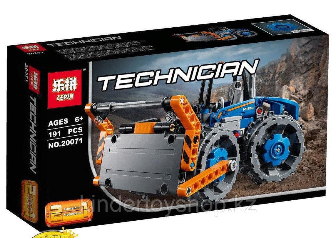 Конструктор Lepin 20071 Бульдозер (Аналог Лего 42071) Lego Technic